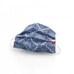 Masque en tissu - masque barrière pashmina - motif paisley
