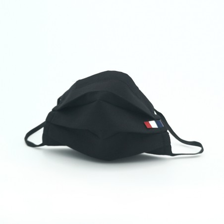 Masque en tissu - masque barrière noir