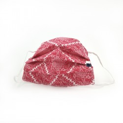 Masque en tissu - masque barrière motif pashmina - paisley
