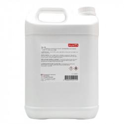 Bidon de cinq litres de gel hydroalcoolique - vue de dos