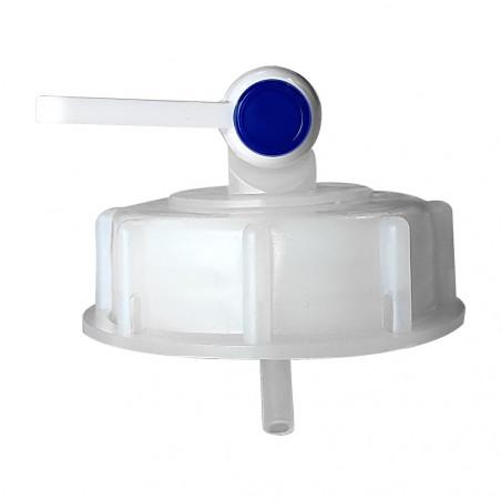 Bouchon pour bidon de vingt litres de gel hydroalcoolique PURITY - vue du dessous