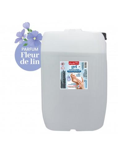 Bidon de 20 litres - Gel Hydroalcoolique Purity 703 - Parfum Fleur de Lin