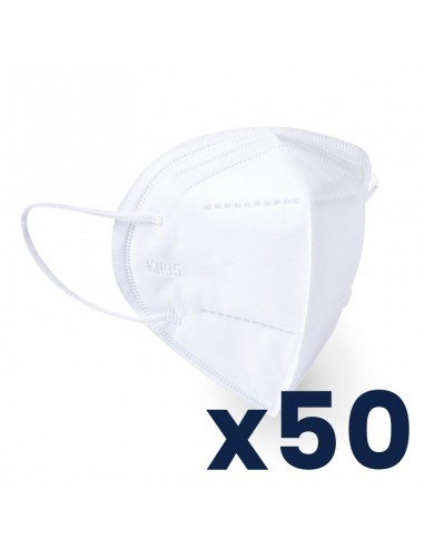 Pack de 50 masques FFP2 - Type KN-95 - Norme FDA