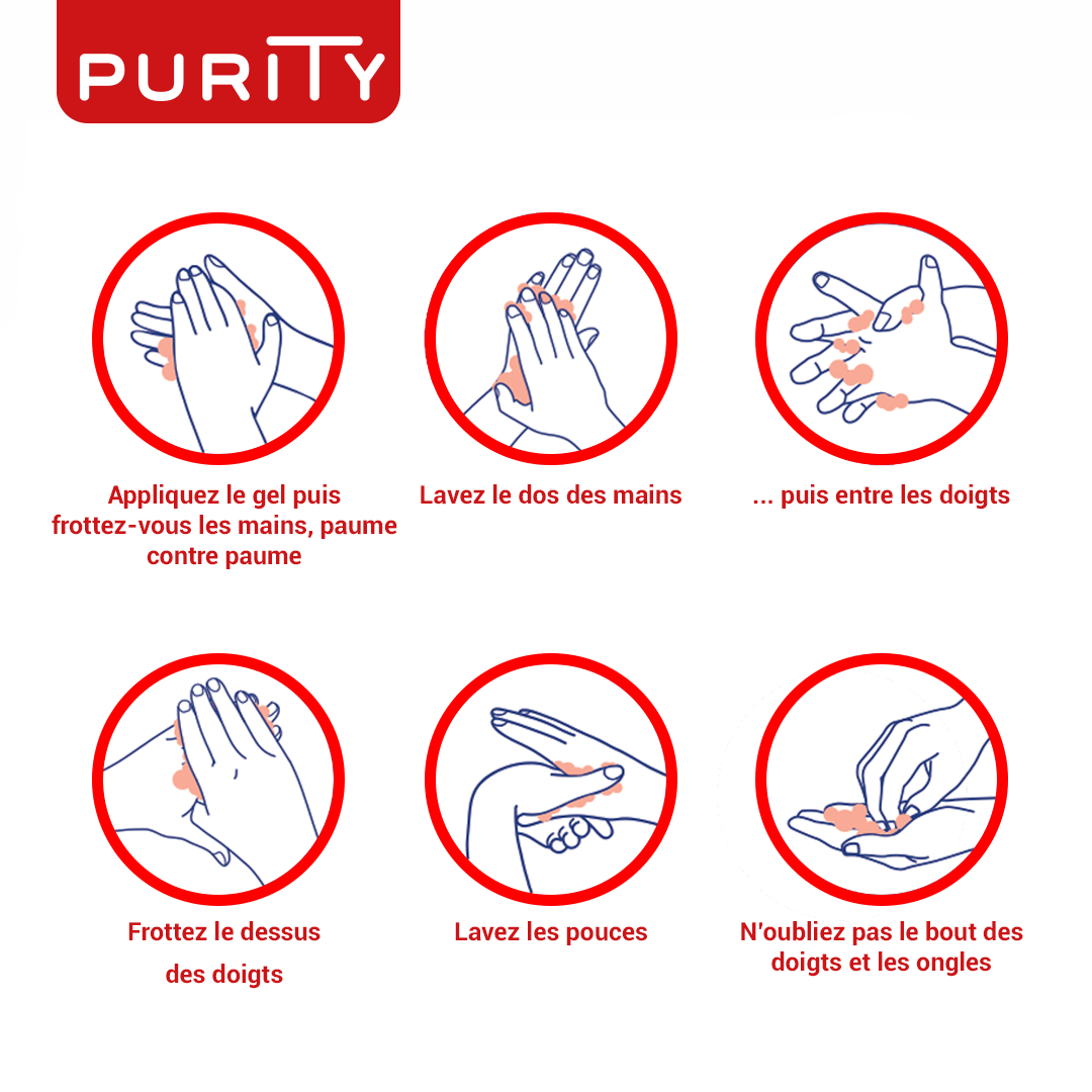 Comment utiliser le gel Purity